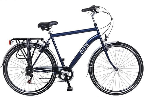 Popal City 6sp Herenfiets 28 inch blauw