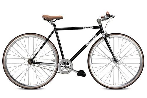 Troy speed fixedgear fiets Zwart