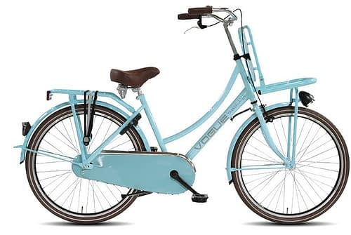 vogue transporter mint blauw