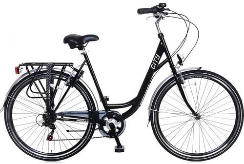 Popal City 6sp damesfiets 28 inch zwart