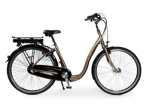 Aldo Lage Instap fiets Elektrisch 26 inch Comfort E-Bike