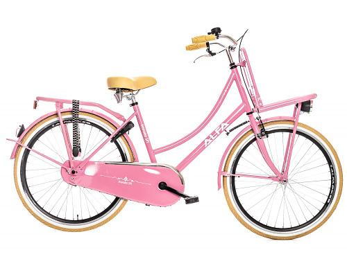 Alfa Innovador Transporter Meisjesfiets 26 inch Roze