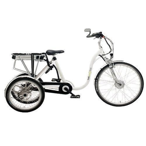 Volwassen Driewieler fiets 26 inch 25 inch Elektrische Driewieler dutchebike