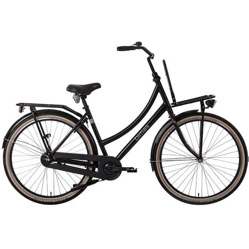 Bimas-Transporter-1.0-Dames-28-inch-Mat Zwart Mat Black