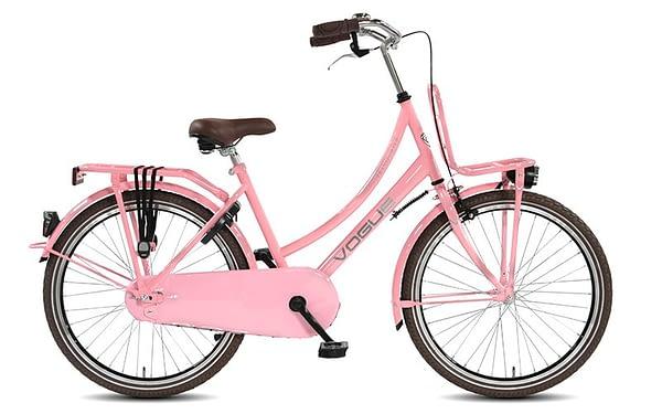 Transportfiets Vogue Transporter Meisjesfiets 24 inch Rose