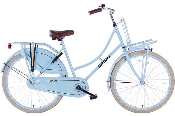 spirit-omafiets 26 inch-blauw