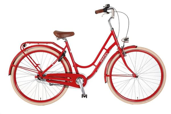 popal swing damesfiets 28 inch 50cm rood