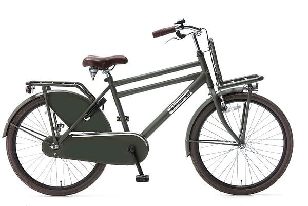 Popal Daily Dutch Basic Jongensfiets 24 inch army green