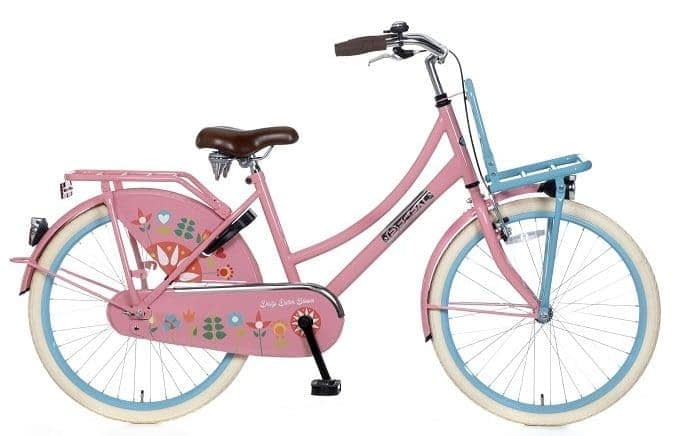Popal Daily Dutch 24 inch meisjesfiets Bloom Roze