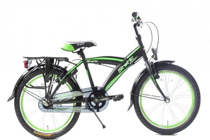 static-alpha-jongensfiets-20-inch-n3-zwart-groen