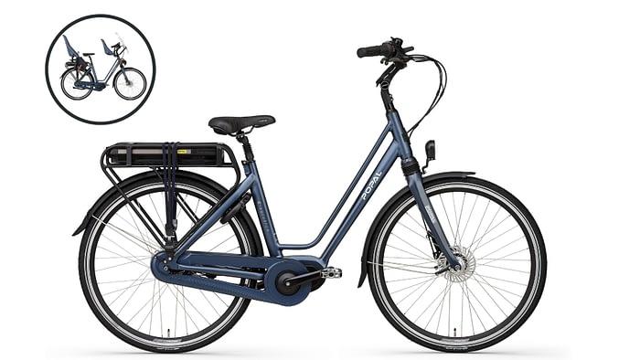 Popal E-Volution 10.0 Elektrische fiets 28 inch blue