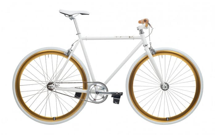 Cheetah 3.0 prey fixed gear white gold
