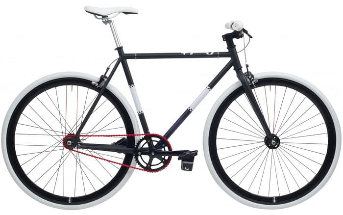 Cheetah 3.0 prey fixed gear zwart-wit