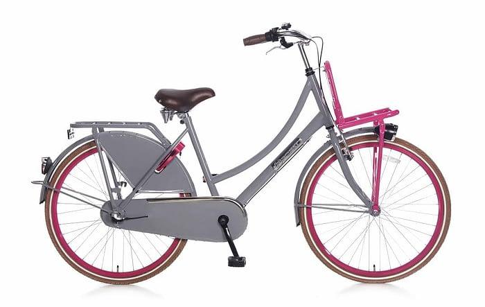 popal-daily-dutch-basic-plus-meisjes-transportfiets-26-inch-Grijs-roze