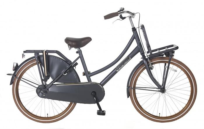 Meisjes Transportfiets Popal daily dutch basic 24 inch petrol blauw