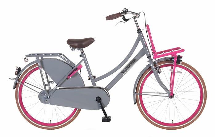 popal-daily-dutch-transportfiets-24-inch-grijs-roze