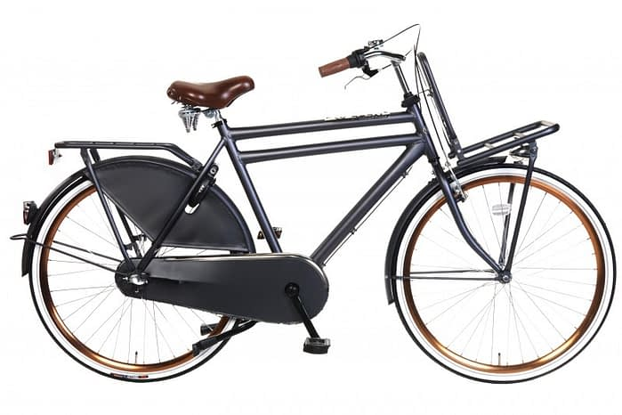 Popal Daily Dutch Royal Heren Transportfiets Petrol Blauw 57 cm