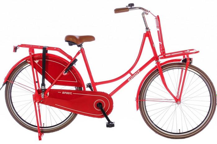 Spirit Omafiets 26 inch (model 2016) Rood