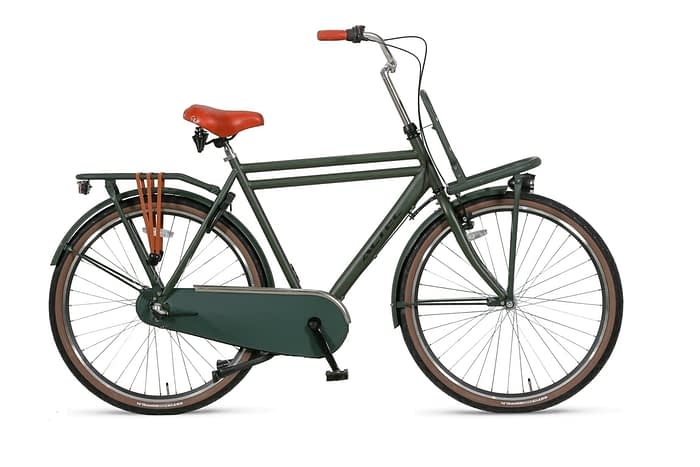 Altec-Dutch-28inch-Transportfiets-N3-Heren-61cm-Army-Green
