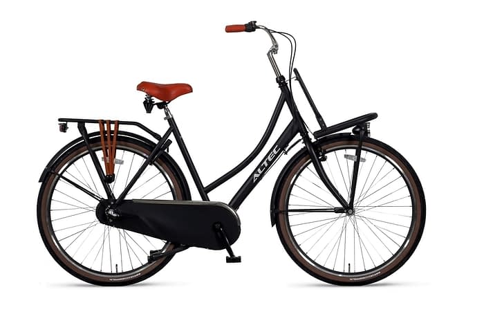 Altec-Dutch-Damesfiets-28inch-Transportfiets-N3-50cm-Zwart