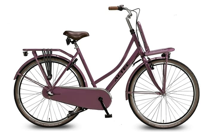 Altec-Dutch-Damesfiets-28inch-Transportfiets-N3-Dark-Rose-50-cm