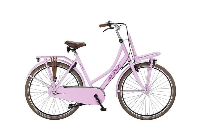 Altec-Dutch-damesfoets-28inch-Transportfiets-N3-Hot-Pink-57-cm-UITVERKOOP-ACTIE-