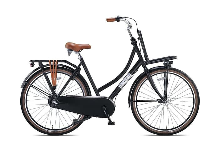 Altec-Vintage-Damesfiets-28inch-Transportfiets-N3-Zwart-50cm-NIEUW-2020