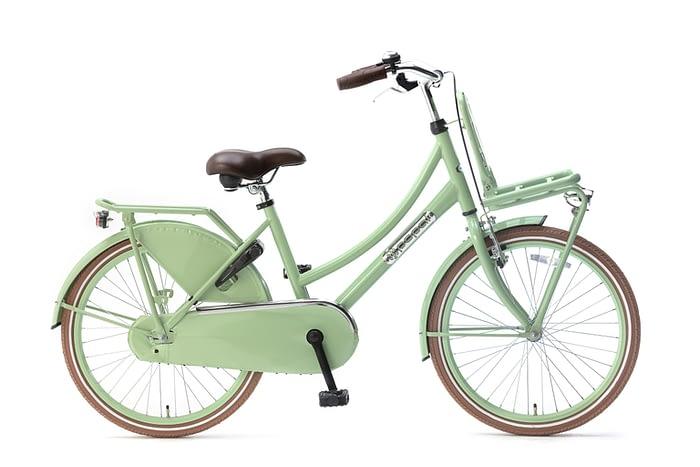 Popal-Daily-Dutch-Basic-meisjesfiets-22-inch-Pistasch groen