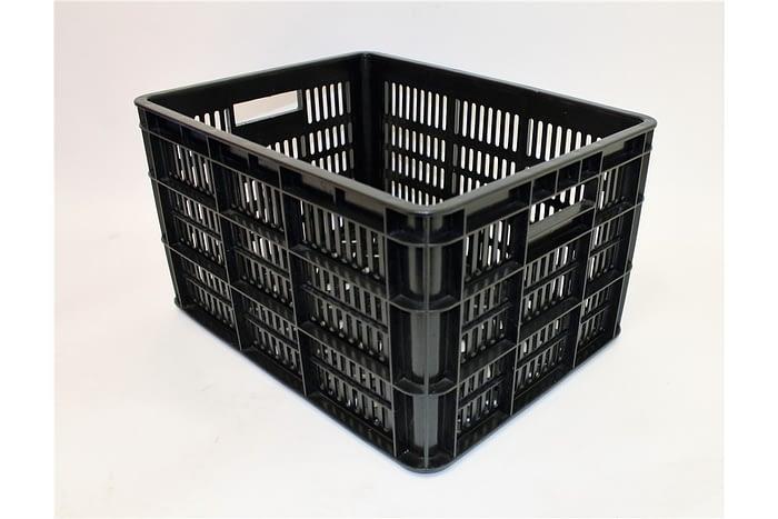 Kunststof-Krat-Medium-40x31x23-Zwart
