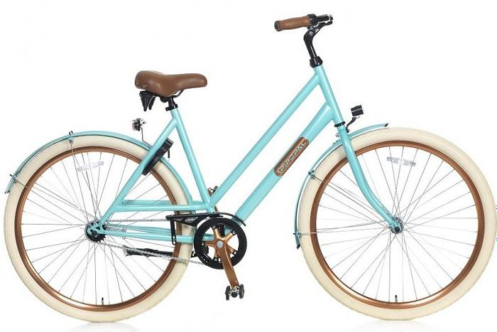Popal Montebella damesfiets 28 inch licht blauw