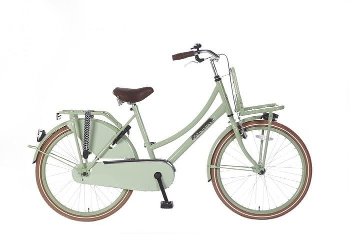 Meisjes Transportfiets Popal daily dutch basic 24 inch groen
