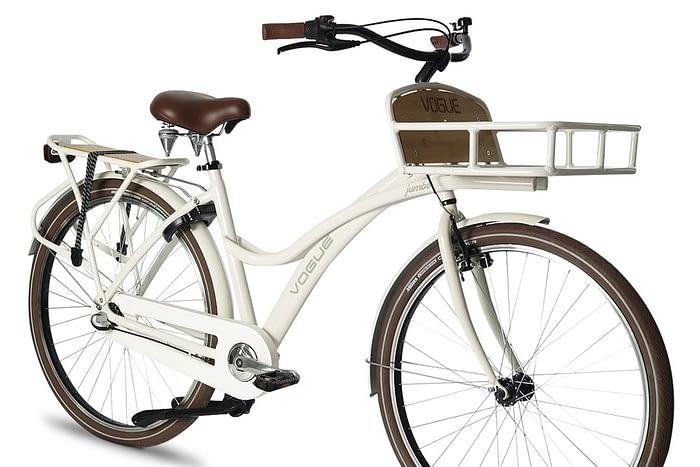 Vogue Jumbo dames transportfiets Wit
