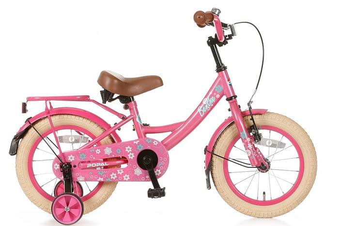 popal Benthe 14 inch meisjesfiets roze