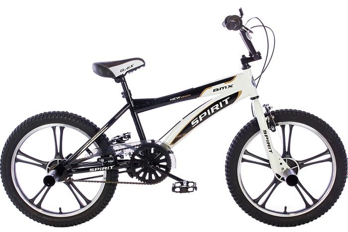 spirit-bmx-fiets cheetah-zwart