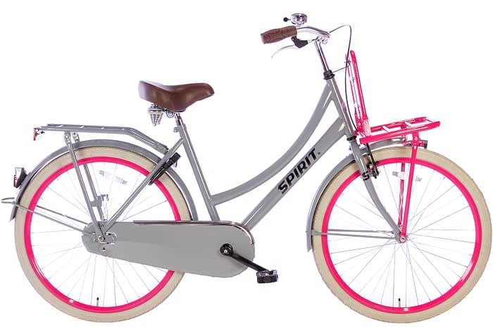 spirit-cargo-grijs-roze-26 inch meisjesfiets