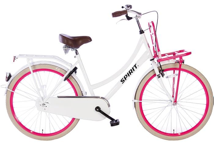 spirit-cargo-wit-roze-26 inch meisjesfiets