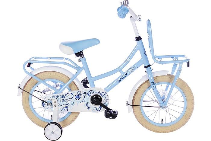 spirit-omafiets 14 inch blauw