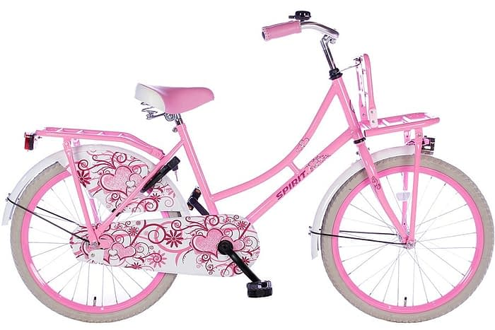spirit-omafiets 22 inch roze