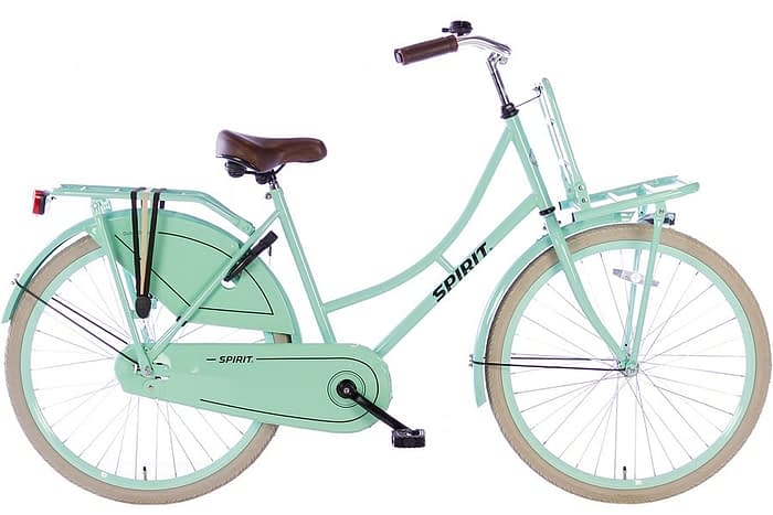 spirit-omafiets 26 inch-groen