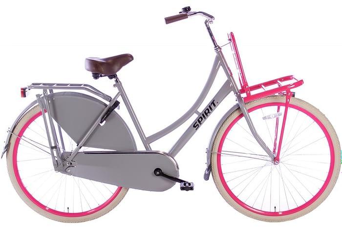 spirit-transporter grijs roze