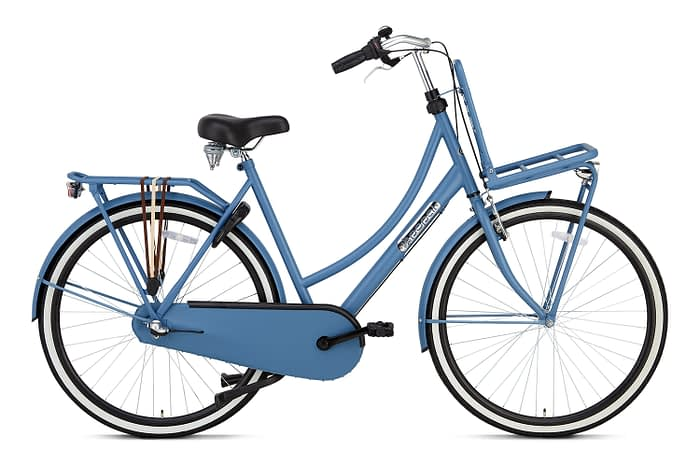 Popal Daily Dutch Basic plus 28 inch dames Transportfiets Goteburg Blue