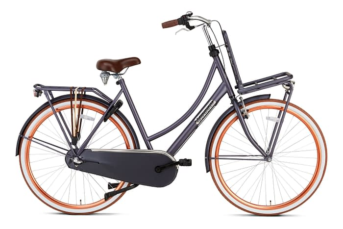 Popal Daily Dutch Basic plus 28 inch dames Transportfiets Petrol Blue