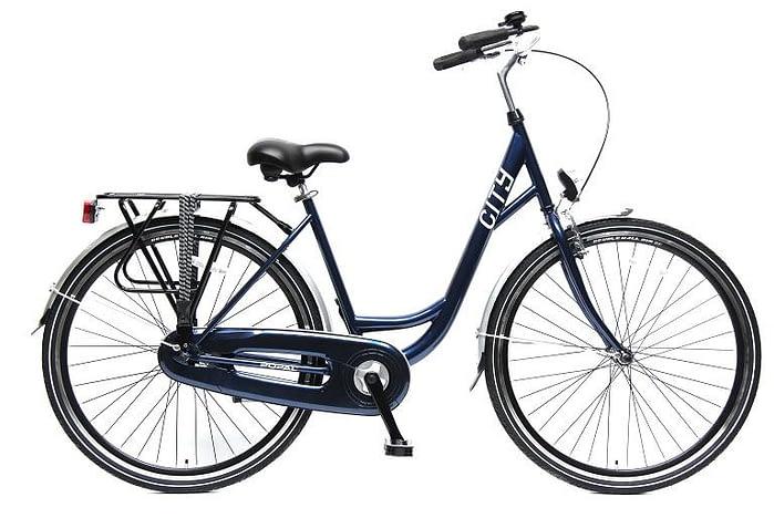 Popal City damesfiets 28 inch blauw