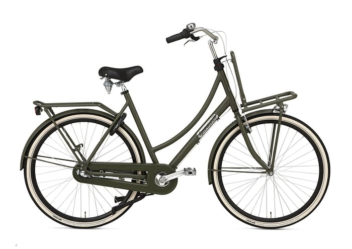 Popal Daily Dutch Prestige Transportfiets 50 57cm 28 inch ARMY GREEN