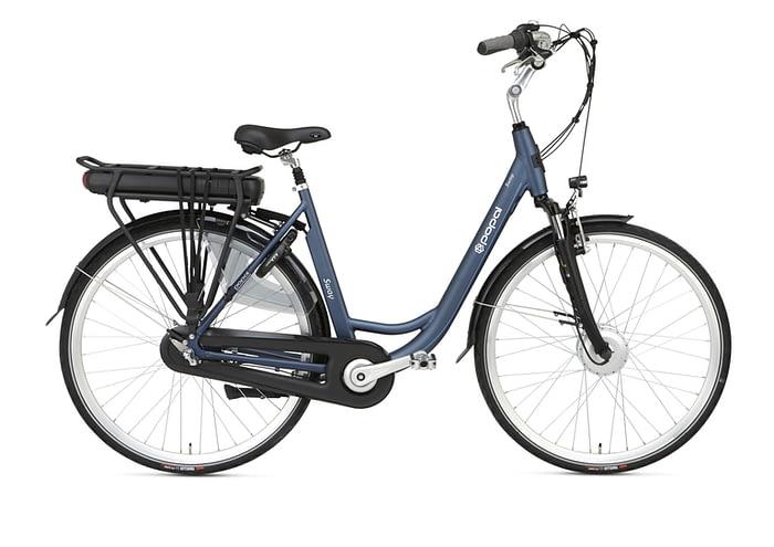 Popal Sway Dames elektrische fiets 28 inch mat blue