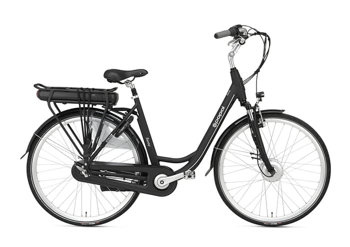 Popal Sway Dames elektrische fiets 28 inch mat zwart