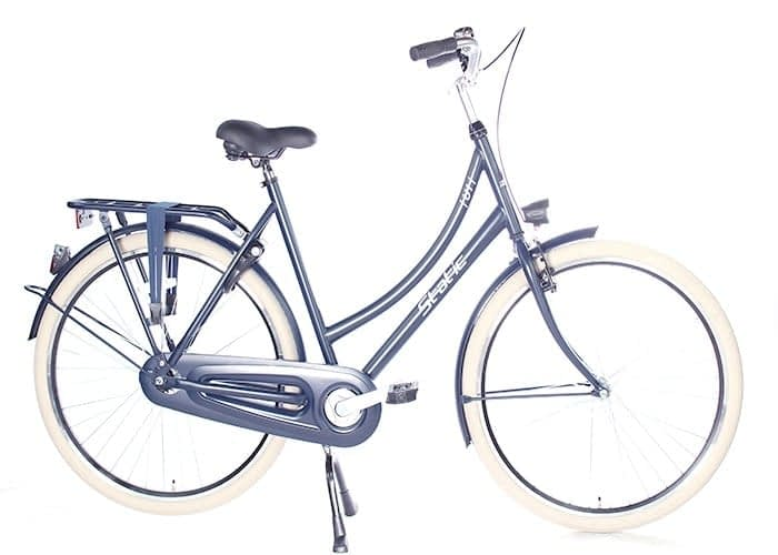 Static Urban 28 inch Dames Stadsfiets Jeans Blauw