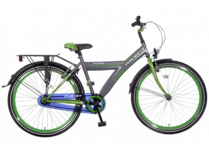 popal-fun-jet-jongens-fiets-2608-grijs-groen