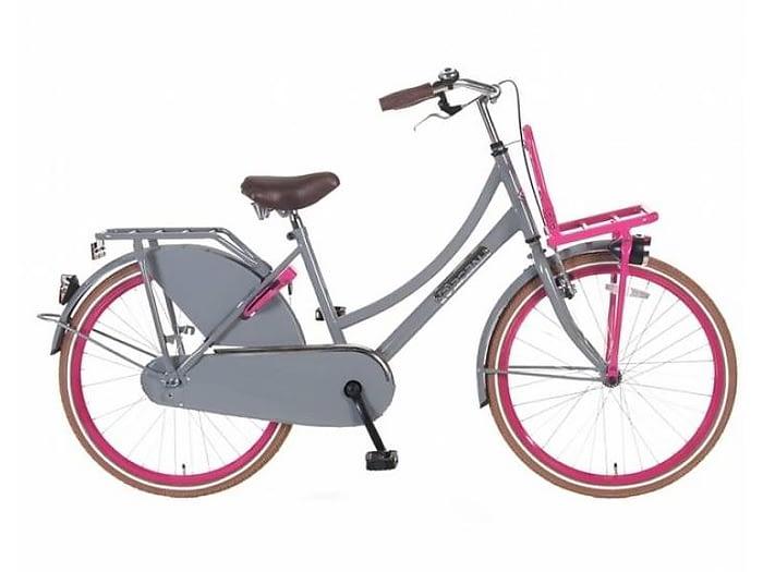 popal-meisjesfiets-transportfiets-26-inch-daily-dutch-select-grijs-roze