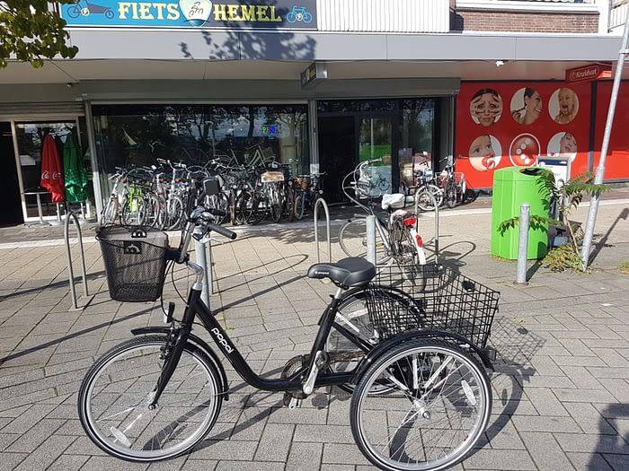 Fietsenwinkel Rotterdam driewieler fiets lage instap fiets 24 inch 26 inch